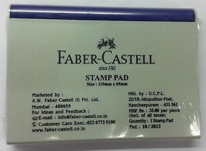 Faber-Castell-Stamp-Pad-Blue-Violet-Ink-Rubber-Stamp-Ink-Pad-110mmx69mm