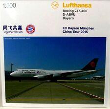 Boeing 747-400  Lufthansa (FC Bayern  - China Tour 2015)