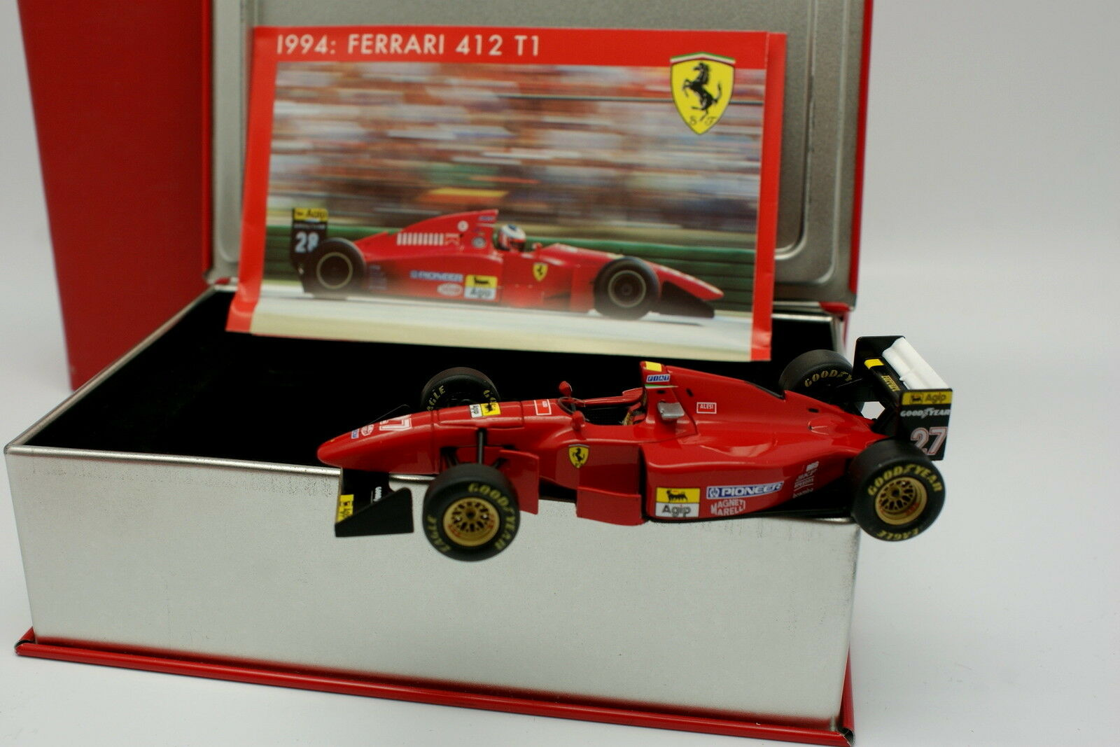 Hot Wheels La Storia 1 43 - F1 Ferrai 412 T1 Alesi 1994