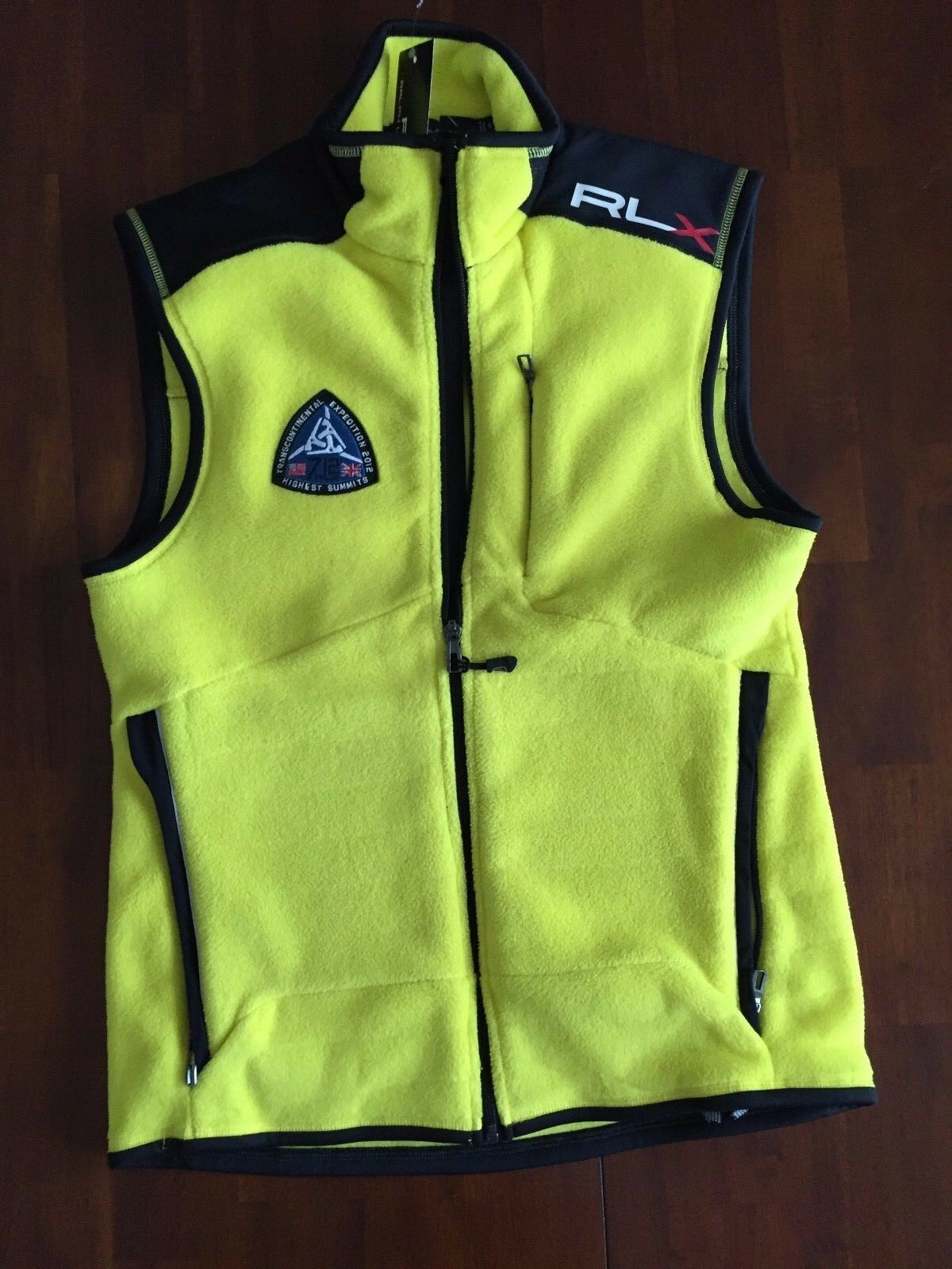 RLX Ralph Lauren  Transcontinental Expedition 2012 Fleece Vest ( Small ) 165