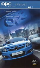 Prospekt 2005 Opel OPC Inside 1 05 Autoprospekt Astra Nürburgring IAA Filmspots