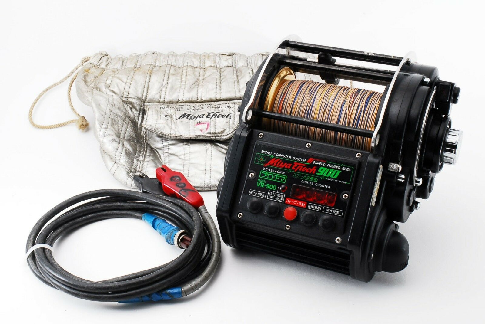 Excellent Miya Epoch VR 900 2-Speed Big Game Electric Reel  285056 II  outlet on sale
