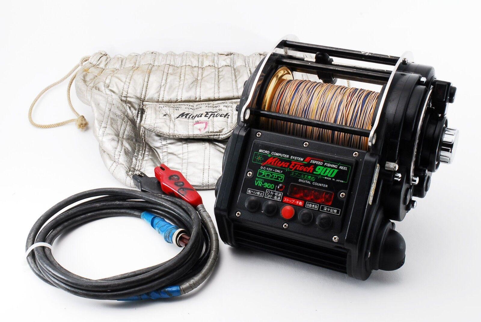 Excelente  Miya Epoch VR 900 2 Velocidades Gran Juego Carrete Electrico 285056 II