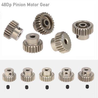 1//10 Rc Car Pinion Gear Set 48p 21T-25T For Tamiya TT01 TT01E TT02 M05 M06 TL01
