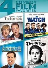 The Internship/The Watch/Cedar Rapids/The Sitter (DVD, 2014, 4-Disc Set)