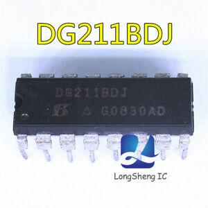 Encapsulacion-5PCS-DG211BDJ-DIP-16-switches-analogico-CMOS-de-cuatro-Mejorado-Nuevo