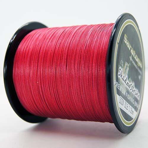 8 Strands Power 100M 300M 500M 1000M Red PE Dyneema Braided Sea Fishing Line