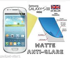 MATTE ANTI GLARE SCREEN PROTECTOR COVER GUARD FOR SAMSUNG GALAXY S3 MINI i8190
