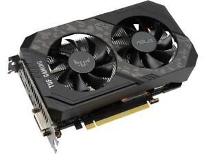ASUS TUF Gaming GeForce GTX 1660 SUPER Overclocked 6GB Edition HDMI DP DVI Gamin