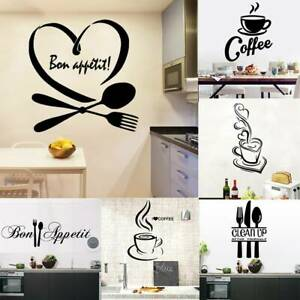 Vinyl-Home-Room-Decor-Art-Quote-Wall-Decal-Stickers-Kitchen-Removable-Mural-DIY
