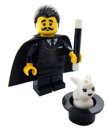 NEW LEGO MAGICIAN w//Rabbit /& Hat Minifig set magic minifigure figure toy cape