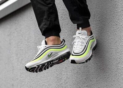Nike Air Max 97 SE, WeißBarely VoltSchwarzVolt, Größe 43EU 9,5US, neu!, top! | eBay