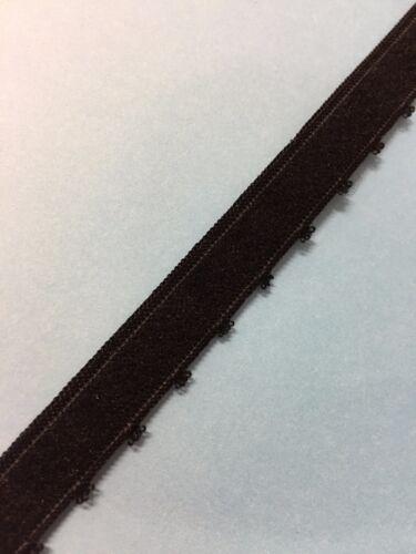 10 métres galon  lingerie ruban dentelle élastique  Ruché   1cm   lot 26