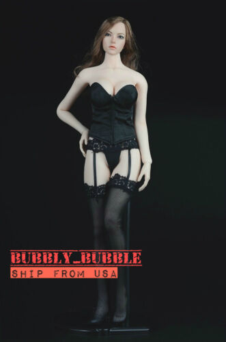 """1//6 Lace Corset Gartering Stockings For 12/"""" PHICEN Hot Toys Female Figure ☆USA☆"""