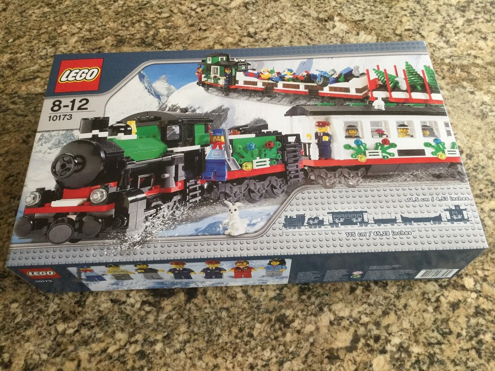 LEGO 10173 Holiday Holiday Holiday Train BRAND NEW FACTORY SEALED 03be32