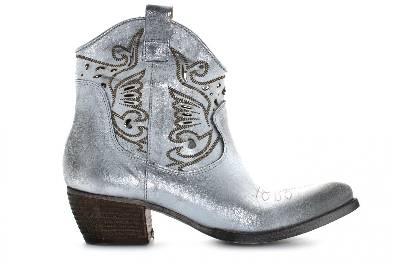 Concept P20f chaussures femme bottines MEXICO SILVER
