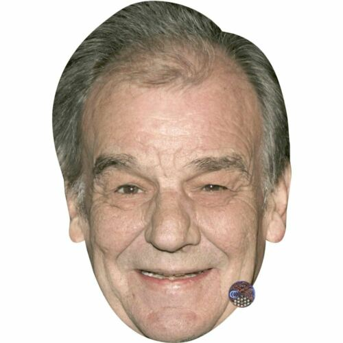 Card Face and Fancy Dress Mask Keith Floyd Celebrity Mask Smile