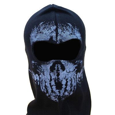 Skeleton Ghost Skull Balaclava Ski Motorcycle Full Face Mask Halloween Costume