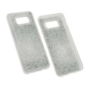 Hybridcover-Glam-Silber-fur-Samsung-Galaxy-S8-Case-Hulle-Cover-Schutzhulle