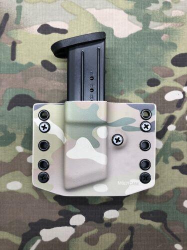 Multicam Kydex M/&P 9 .40 .357 Single Magazine Carrier