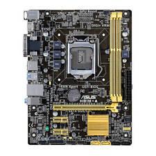 Asus Motherboard H81M-A/C/SI Core i7/i5/i3 H81 LGA1150 16GB DDR3 PCI Express
