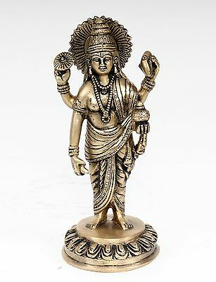KLEINE LAXMI STATUE AUF THRON 6 CM HOCH HIMALAYA BUDDHA YOGA MEDITATION INDIEN
