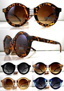 Occhiali Da Sole Donna Tondi Grandi Lunettes Sunglasses Gafas Pif Wear 3xj93rJob