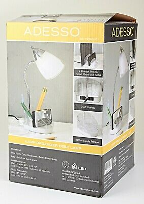 Ilamp Desk Lamp Organizer W Adjustable Neck Room