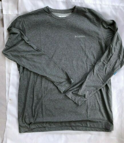 "New Men/'s Columbia /""Thistletown Park/"" Omni-Wick LS Crew Neck Shirt Tee All Size"