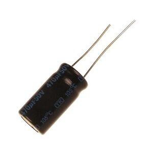 10 Elko Kondensator radial Jamicon TK 220uF 50V 105°C 073399