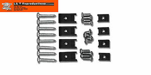 1955 Chevy Taillight Mounting Screw Kit Belair Sedan Hardtop Wagon Nomad New Set