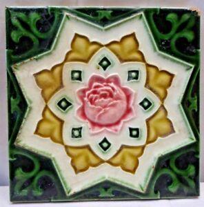 Art Nouveau Reproduction Decorative Ceramic tile 355