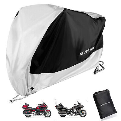 Xxxl Black Silver Motorcycle Cover For Honda Goldwing Gl1800 1500 1200 1000 1100 Ebay