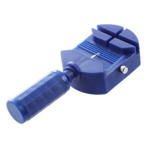 Uhr-Stiftausdruecker-Armbandkuerzer-Stiftaustreiber-Uhrenwerkzeug-Blau-Weiss-B7W6