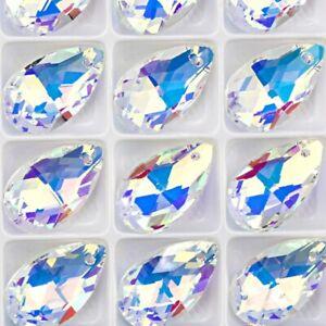 10pcs-22-mm-Cristal-Perles-De-Verre-Maille-Forme-Perle-Pour-A-faire-soi-meme-Bijoux-Fabrication