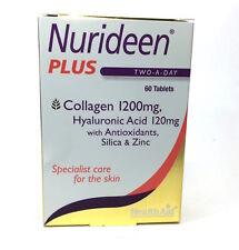 HealthAid Nurideen Plus 60 Tablets Collagen 1200mg Hyaluronic Acid 120mg