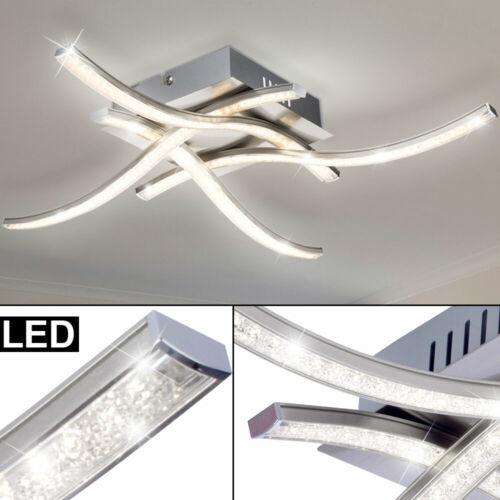 LED Plafond Éclairage Cristal Design Lampe Travail Chambre Vagues Lampe Bureau
