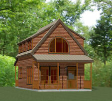 18x30 Tiny House -- PDF Floor Plan -- 999 sq ft -- Model 11D