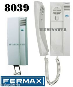 Telefono citymax universal fermax8039 telefonillo portero for Telefonillo portero automatico universal