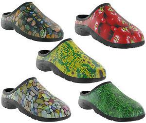 Gardening Clog Shoes Back Garden Slip