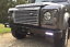 LAND-ROVER-DEFENDER-90-110-FRONT-BUMPER-WITH-INTEGRATED-LED-DRL-LIGHTS-DA8600 thumbnail 1