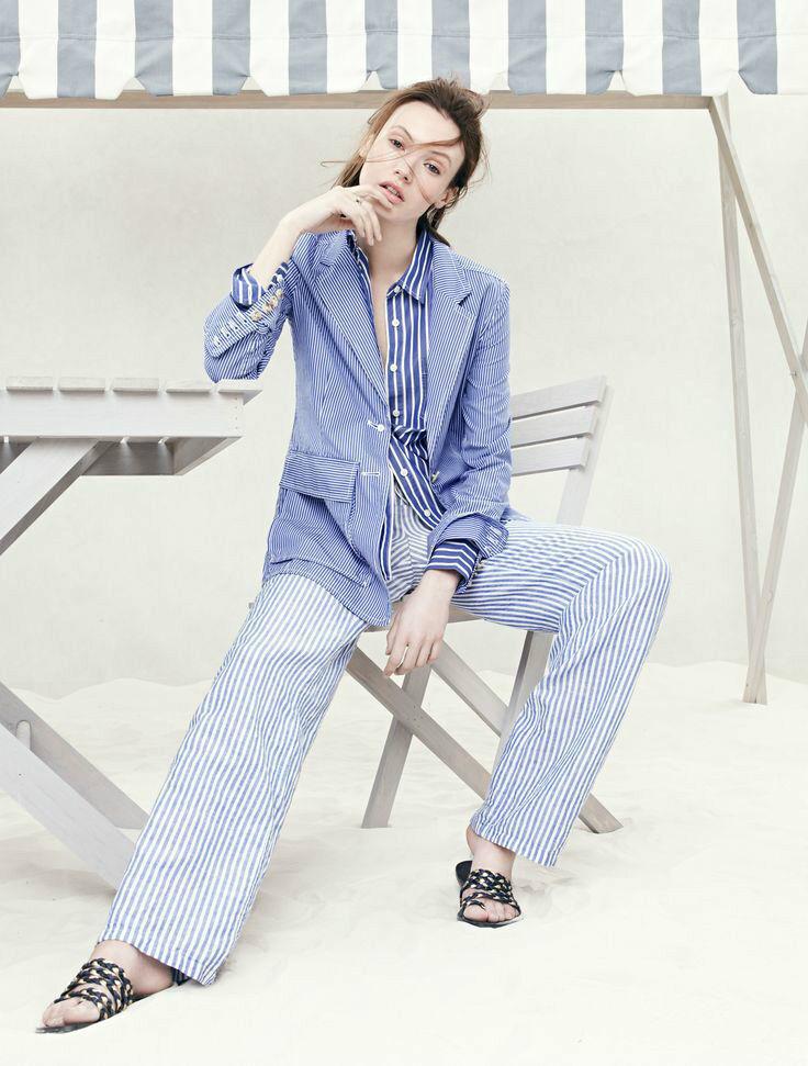 Nuevo Con Etiquetas  Diseñador J  Crew Colección Rhone Camisa Blazer Chaqueta Cobalto francés  tienda