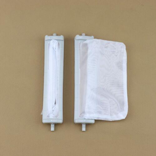 Fit For TOSHIBA machine à laver Accessoires Filtre à 19.3 x17 x 3.9 cm 2Pcs