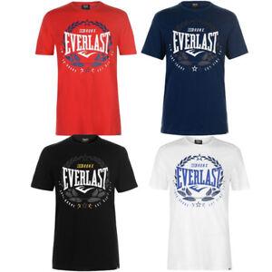 Everlast-Herren-Laurel-T-Shirt-S-M-L-XL-2XL-3XL-4XL-Tee-Sport-Shirt-neu