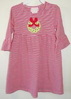 Southern Tots Applique Christmas Wreath Dress Girl's Size 3t