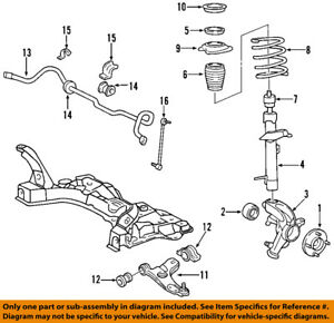 details about ford oem 00 07 focus front suspension spring seat ys4z5793ba 1996 Ford Contour Front Suspension Diagram