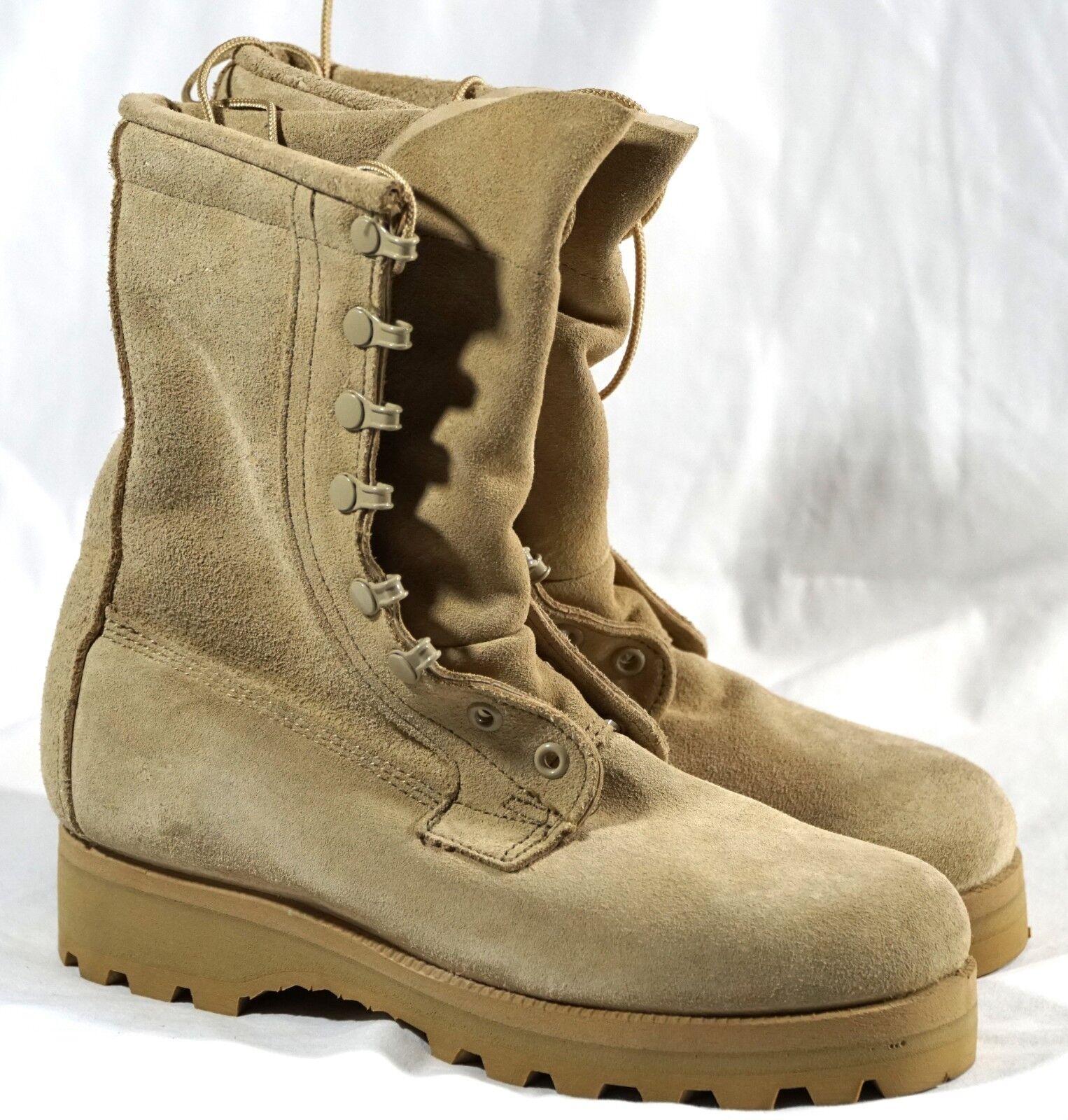 New wellco tan esercito contro goretex vibram militari stivali militari vibram usa Uomo dimensioni noi 5,5 r 2bc640