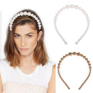 Elegant-Ladies-Big-Pearl-Hairband-Headband-Hair-Accessories-Hair-Hoop-Headpiece
