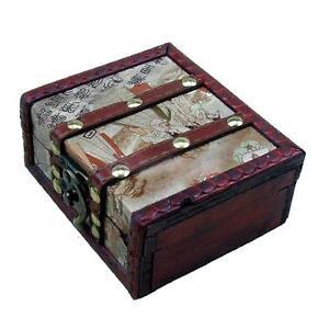Wood travel tattoo carrying box rotary gun power machine for Tattoo machine case