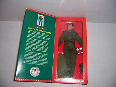 """Home for the Holidays 12/"""" G.I. Joe by Hasbro, 27498//27518 Soldier 1996"""